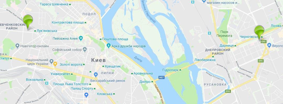 map - Главная